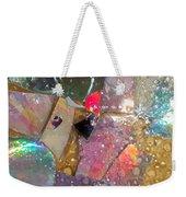 Untitled Abstract Prism Plates II Weekender Tote Bag