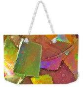 Untitled Abstract Prism Plates IIi Weekender Tote Bag