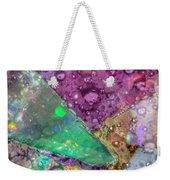 Untitled Abstract Prism Plates V Weekender Tote Bag