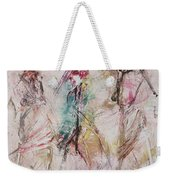 Untitled Weekender Tote Bag by Ikahl Beckford
