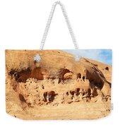 Unusual Rock Formation Weekender Tote Bag