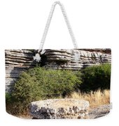 Unusual Rock Formations In The El Torcal Mountains Near Antequera Spain Weekender Tote Bag
