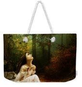 Up Above Where Non Can See Weekender Tote Bag