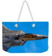 Up Close F-22 Raptor Weekender Tote Bag