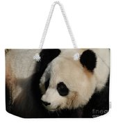 Up Close With A Gorgeous Giant Panda Bear Weekender Tote Bag