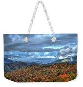 Up In The Clouds Blue Ridge Parkway Mountain Art Weekender Tote Bag
