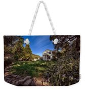 Up On The Hill Weekender Tote Bag