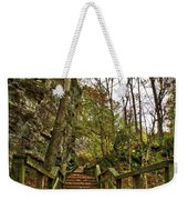 Up The Bluff Weekender Tote Bag