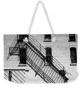 Up The Fire Escape Abstract Weekender Tote Bag
