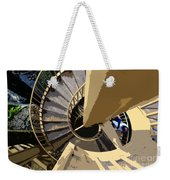 Up The Spiral Staircase Weekender Tote Bag