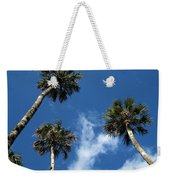 Up To The Sky Palms Weekender Tote Bag