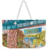 Sedona Up Town Mall In Sedona, California Weekender Tote Bag