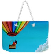 Up Up And Away Weekender Tote Bag by Cindy Thornton
