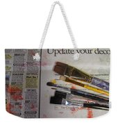 Update Your Decor Weekender Tote Bag