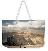Uphill Battle Weekender Tote Bag