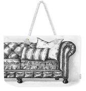 Upholstered Weekender Tote Bag