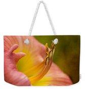 Uplifting Lily Weekender Tote Bag