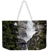 Upper And Lower Yosemite Falls Weekender Tote Bag