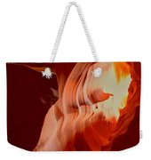 Upper Antelope Canyon Textures Weekender Tote Bag
