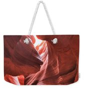 Upper Antelope Lights Weekender Tote Bag