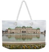 Upper Belvedere And Its Reflection  Weekender Tote Bag