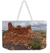 Upper Box Canyon Ruin Weekender Tote Bag