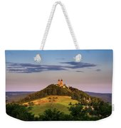 Upper Church With Two Towers In Banska Stiavnica, Slovakia Weekender Tote Bag