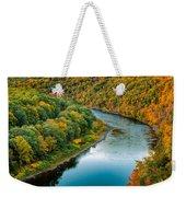 Upper Delaware River Weekender Tote Bag