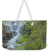 Upper Falls At Mine Kill State Park Weekender Tote Bag