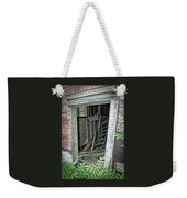 Upper Hoist Doorway Weekender Tote Bag