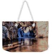 Upper Jemez Falls New Mexico Weekender Tote Bag