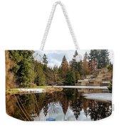 Upper Pond Reflections Weekender Tote Bag