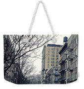 Upper West Side Winter Weekender Tote Bag