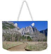 Upper Yosemite Fall And The Trail Weekender Tote Bag