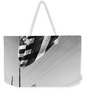 Upraised Flag Support Mlk Day March Tucson Arizona 1991 Weekender Tote Bag