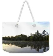 Upstream And Across The Mississippi River Weekender Tote Bag