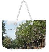 Uptown Ny Street Weekender Tote Bag