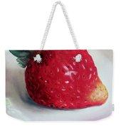 Uptown Strawberry Girl Weekender Tote Bag