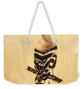 Upupa Weekender Tote Bag by Ilaria Andreucci