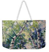 Upward Swirl Weekender Tote Bag