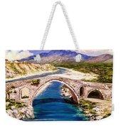 Ura E Mesit - Location Shkoder Albania Weekender Tote Bag