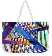 Urban Abstract 258 Weekender Tote Bag