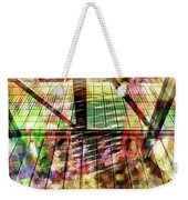 Urban Abstract 369 Weekender Tote Bag
