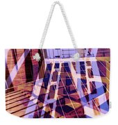 Urban Abstract 449 Weekender Tote Bag