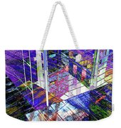 Urban Abstract 476 Weekender Tote Bag