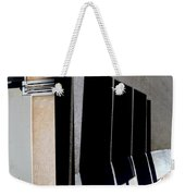 Urban Abstracts Seeing Double 64 Weekender Tote Bag