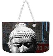 Urban Buddha 4- Art By Linda Woods Weekender Tote Bag