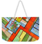 Urban Composition - Abstract Zoning Plan Weekender Tote Bag
