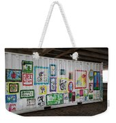 Urban Container Art I V Weekender Tote Bag