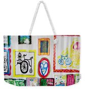 Urban Container Art V Weekender Tote Bag